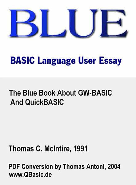 E-Books zu QBasic und QuickBasic im PDF-Format